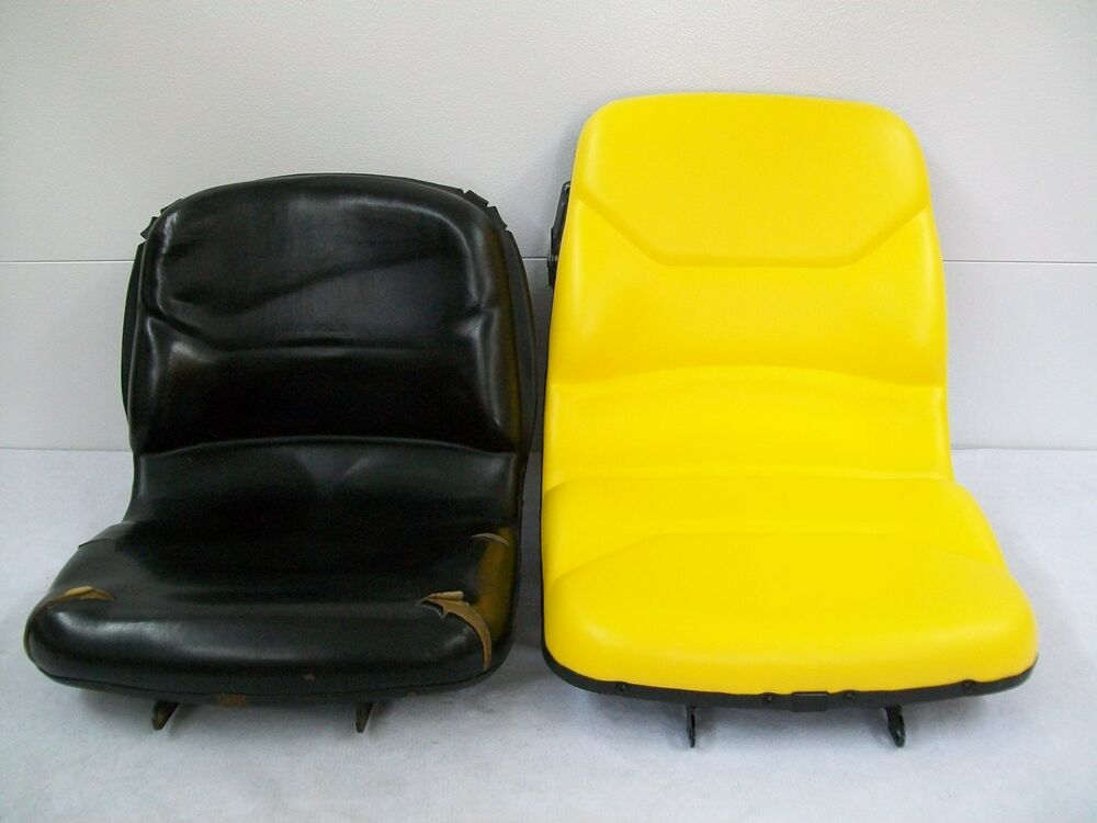 Compact Tractor Seats : Yellow seat john deere compact tractor