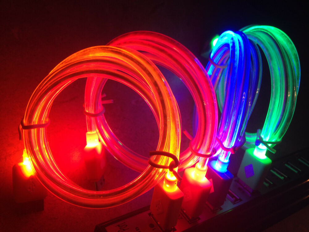 Light Up Iphone  Charger