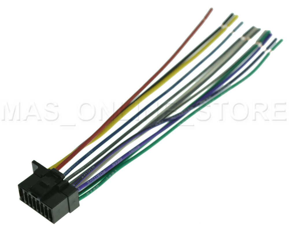 Sony Stereo Wire Diagram Daily Update Wiring Marine Harness For Cdx Gt570up Cdxgt570up Gt470um Car Audio Xplod