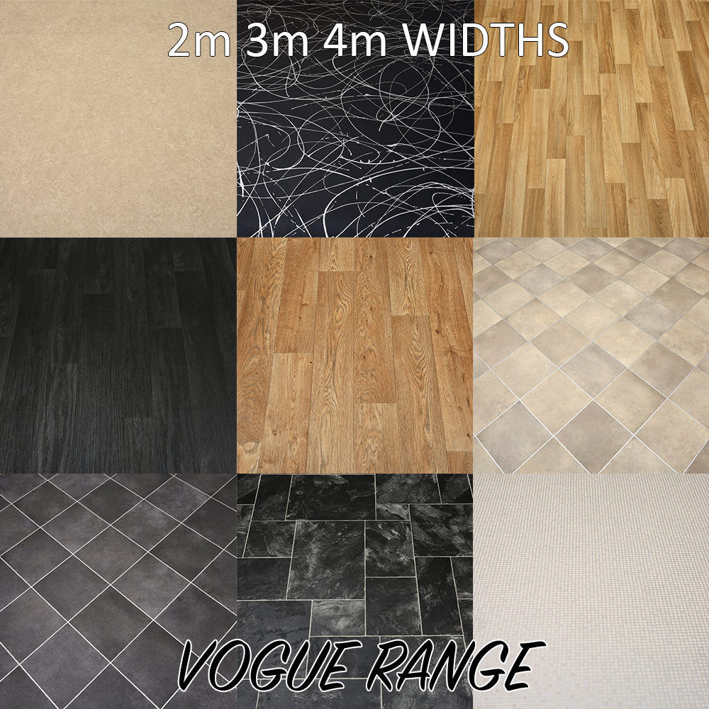 brand new quality non slip vinyl flooring lino kitchen