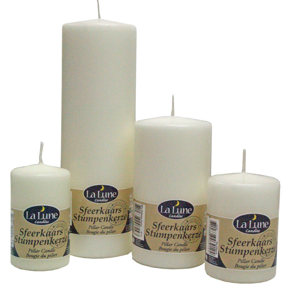 Top quality unscented church pillar candles non drip for Top selling candle fragrances