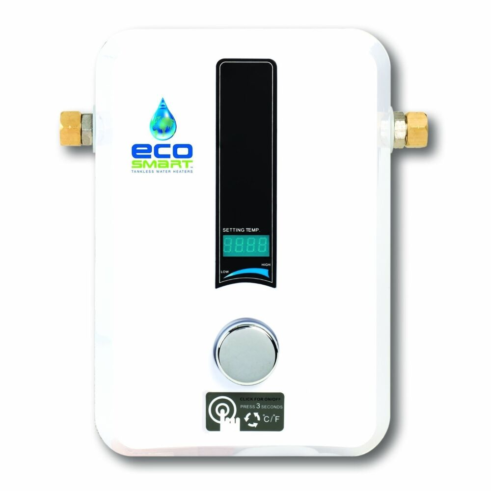 Ecosmart Eco 8 Best Electric Tankless On Demand Hot Water