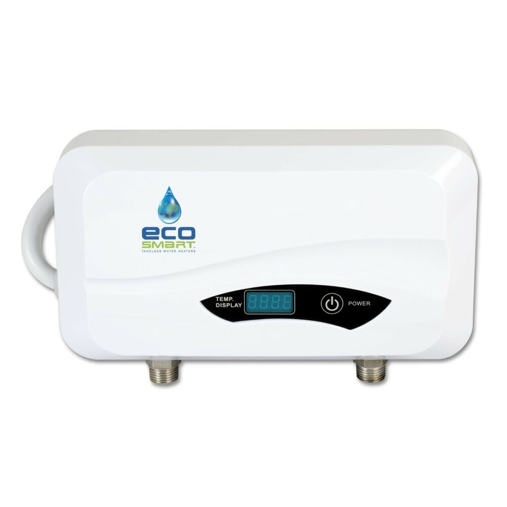 Ecosmart Pou 3 5 Point Of Use Electric Tankless Electric