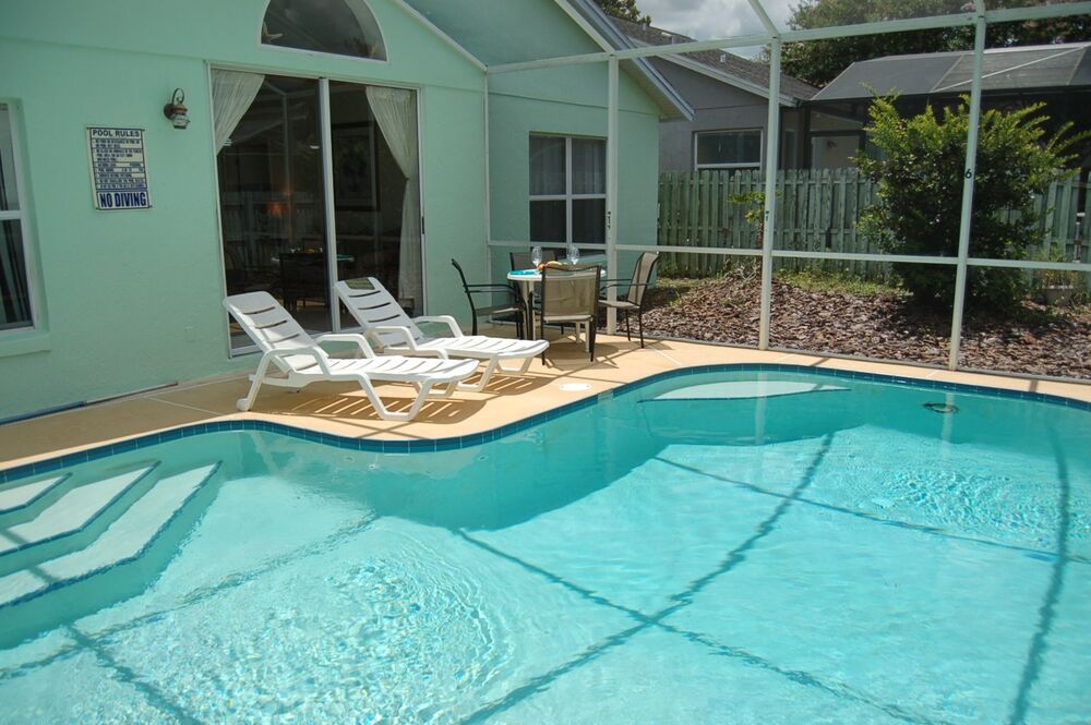 2978 4 Bed Vacation Home With Private Fenced Pool Near Disney Orlando Florida Ebay