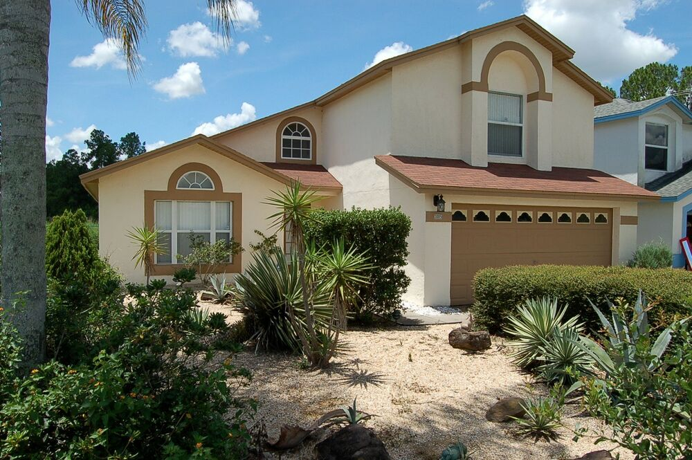 3005 4 bed florida villa with private pool close to disney - 4 bedroom condos near disney world ...