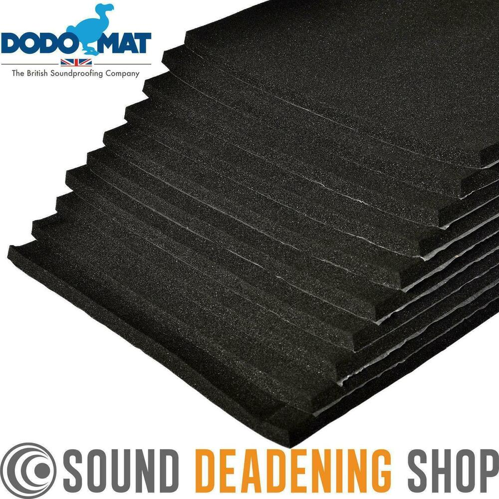 Sound Proof Insulation : Sheets car van sound proofing deadening insulation