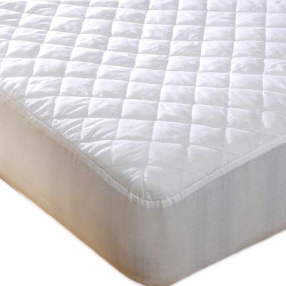 extra deep quilted microfibre mattress protector fitted sheet bedding cover new ebay. Black Bedroom Furniture Sets. Home Design Ideas