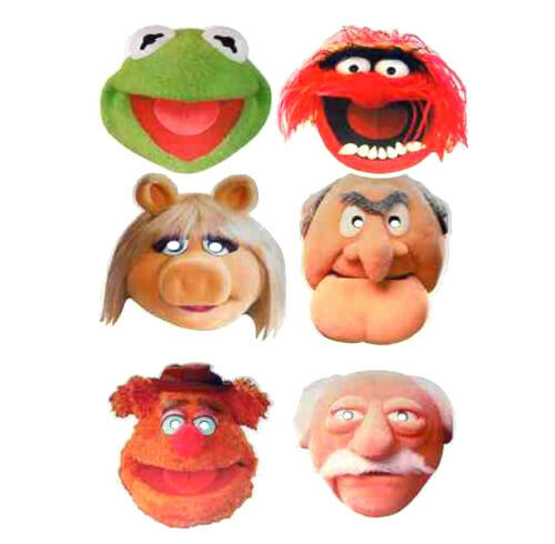 1000 Ideas About Statler And Waldorf On Pinterest: Party Face Mask The Muppets Kermit Miss Piggy Statler