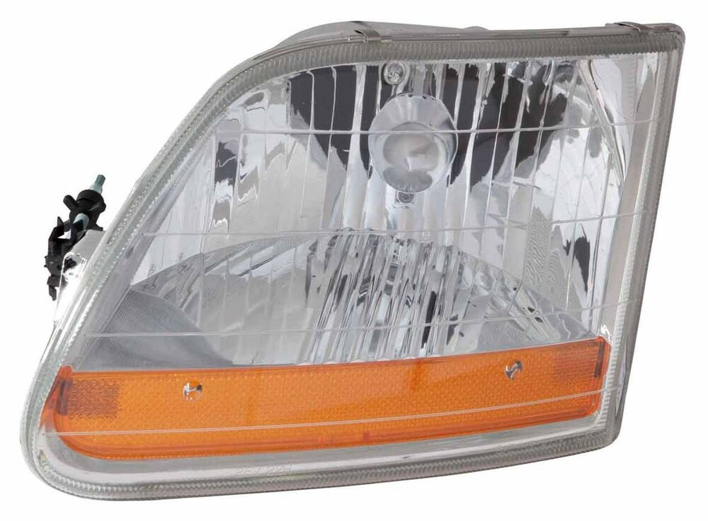 2001 2004 ford f 150 harley davidson model left driver side headlight assembly ebay. Black Bedroom Furniture Sets. Home Design Ideas