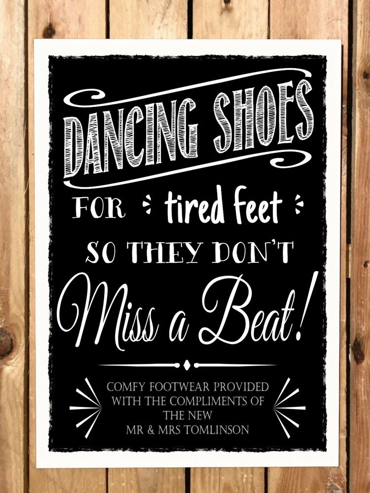 Dancing Shoes Wedding Flip Flops