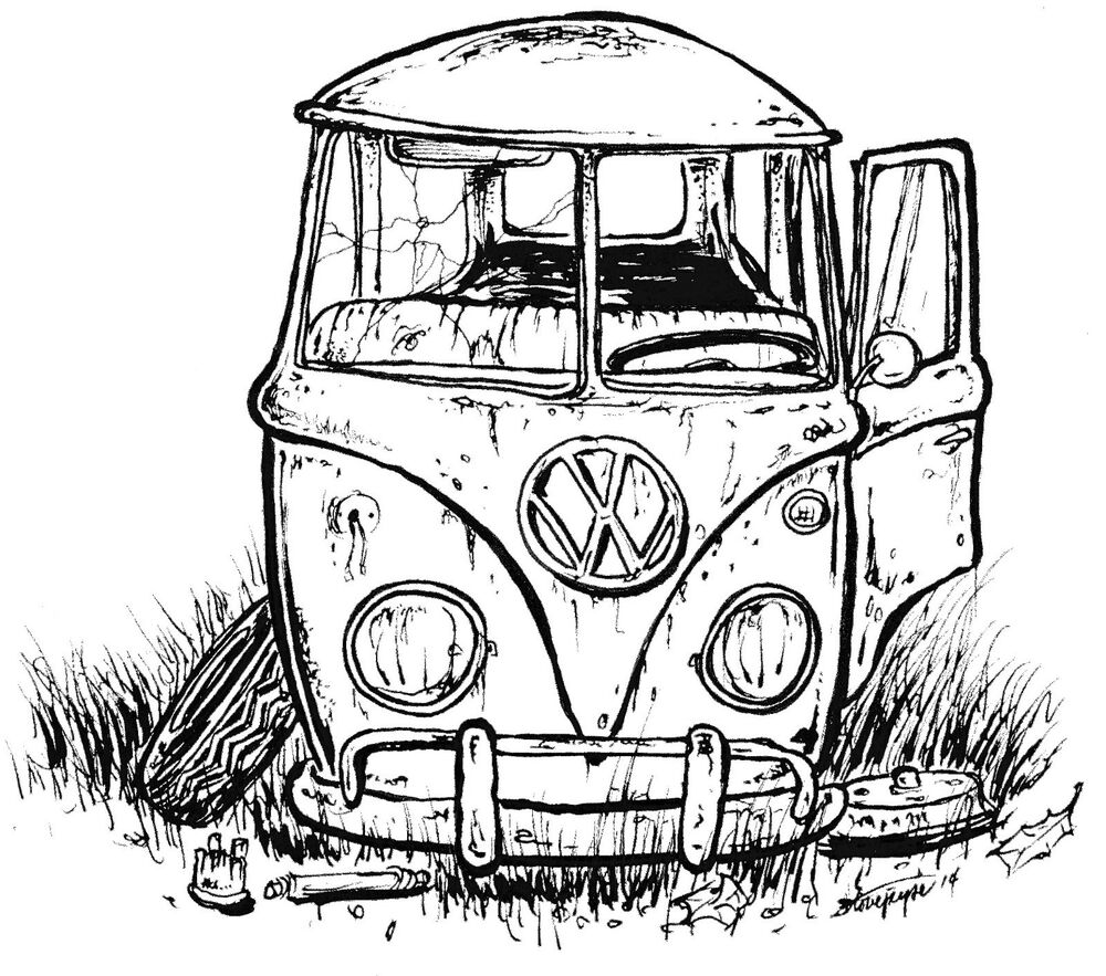 the rusty vw t-shirt   u0026quot simple bus u0026quot