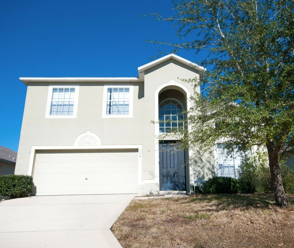 Orlando Vacation Homes And Villas: 339 Florida Villa Rentals 4 Bed Home With Pool In Gated