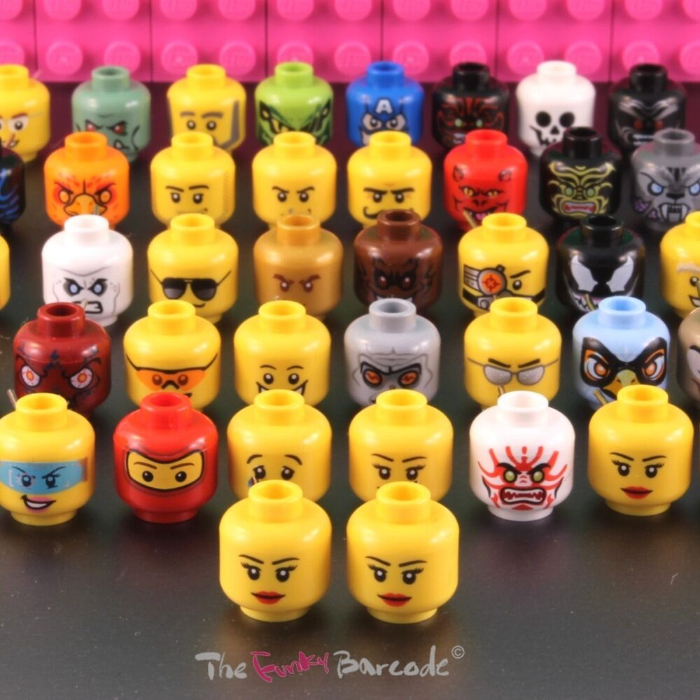 Funky lego head stud earrings girls brick face retro for Quirky retro gifts