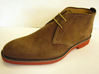 SALE LOAKES END OF LINE MENS ANKLE BOOT  BROWN OILED SUEDE (LOAKE LENNOX)