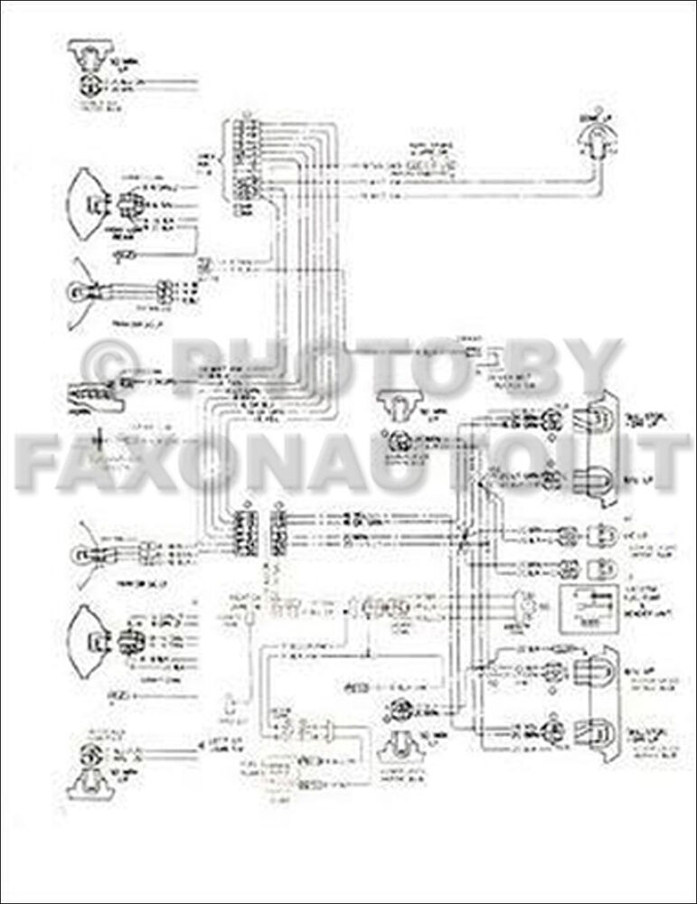1978 Corvette Original Foldout Wiring Diagram 78 Chevy