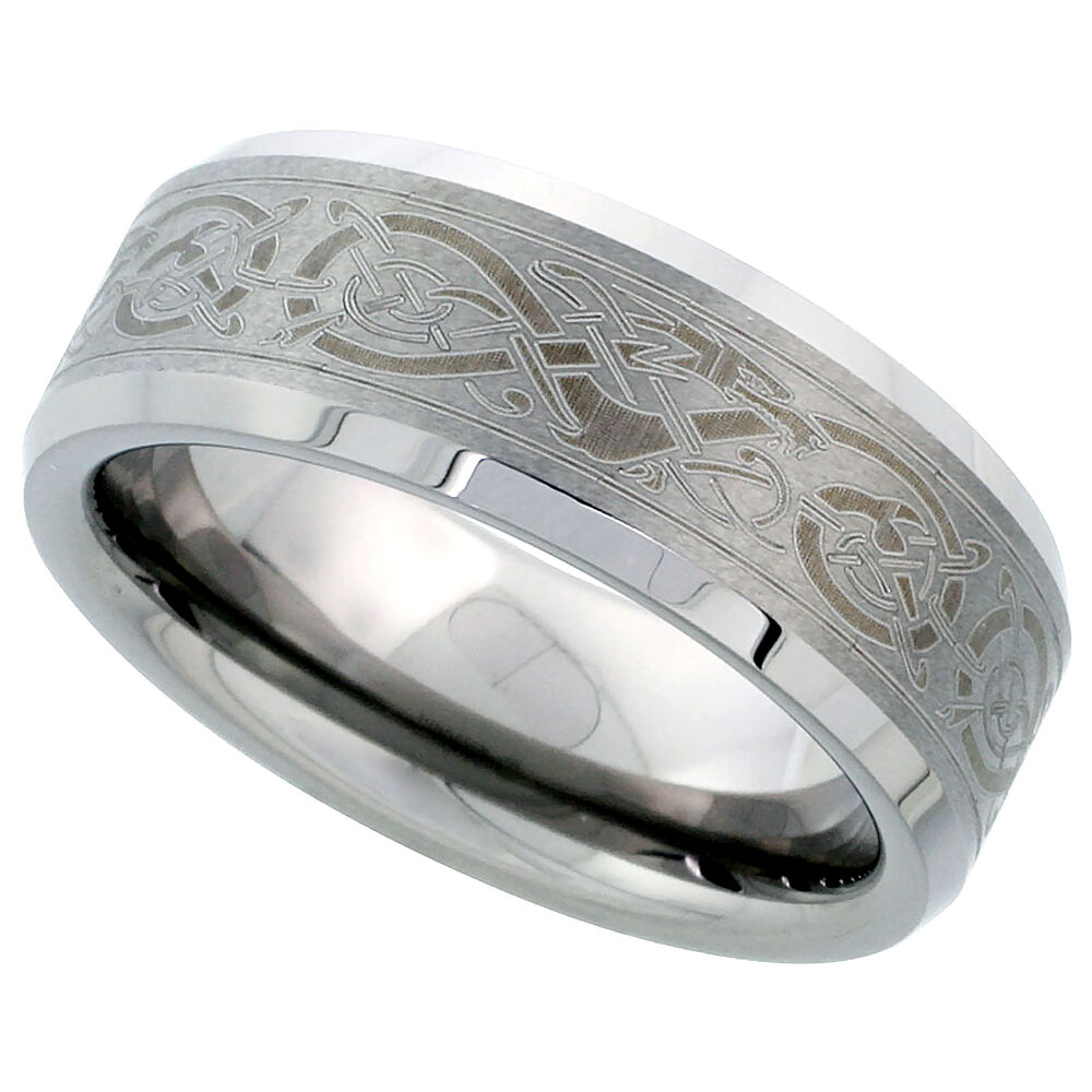 Beveled Wedding Ring