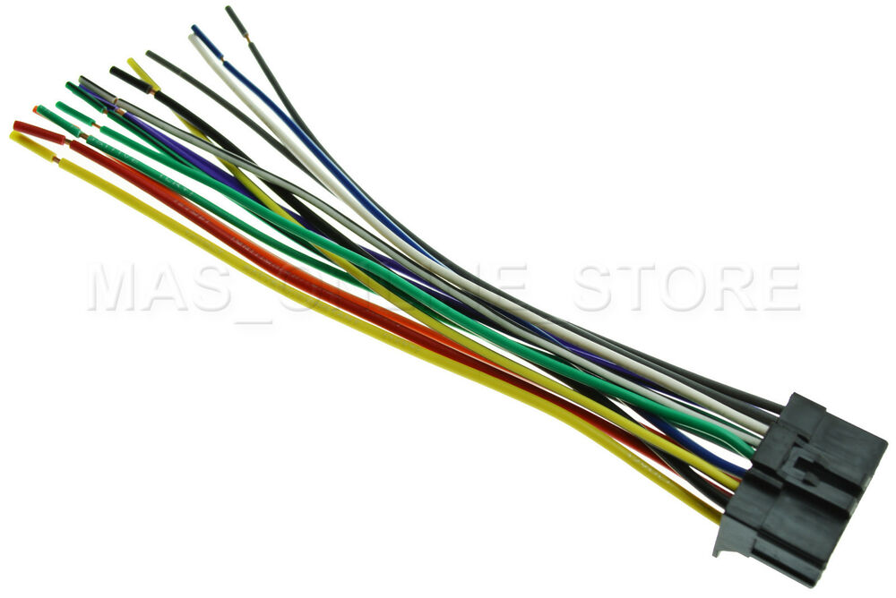 Pioneer Wiring Harness For Ford : Wire harness for pioneer avh dvd bt
