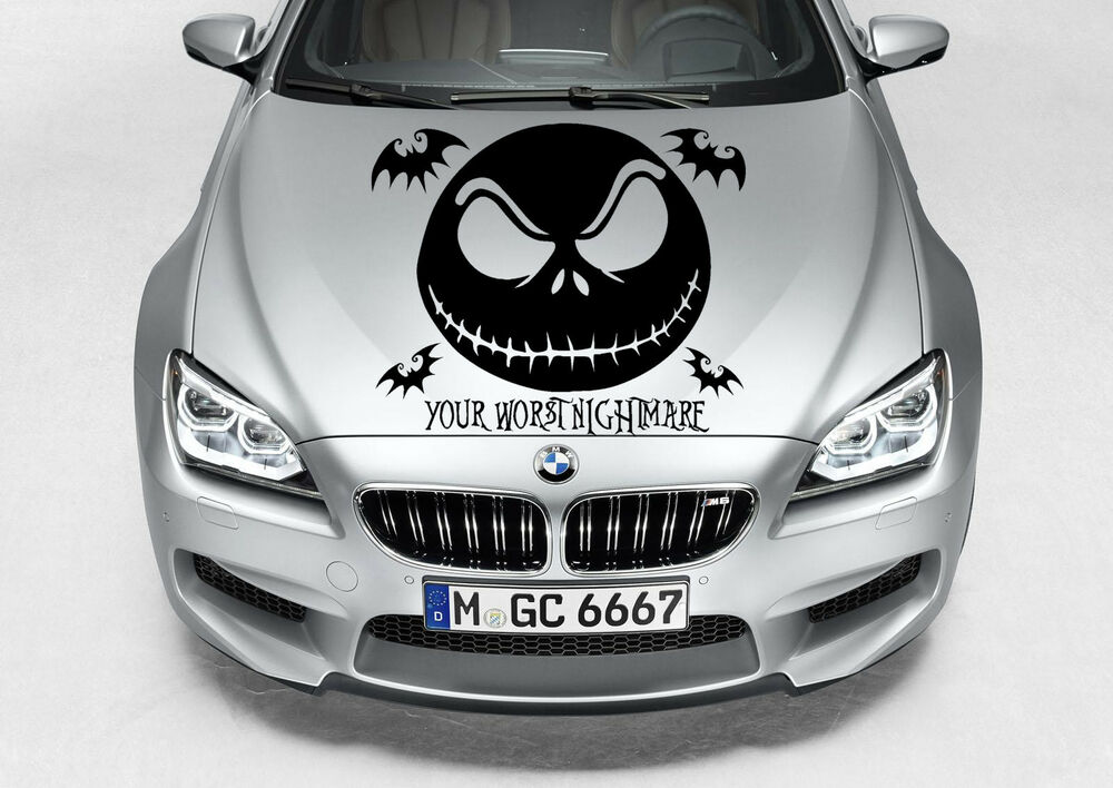NIGHTMARE BEFORE CHRISTMAS JACK SKELLINGTON CAR GRAPHIC DECAL ...