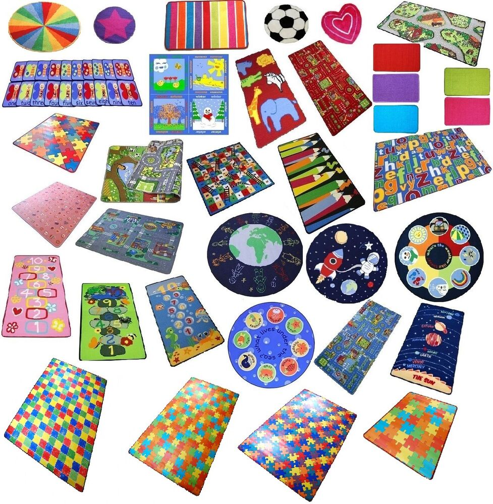 Play Mats For Children, Boys Girls, Fun Playroom Bedroom