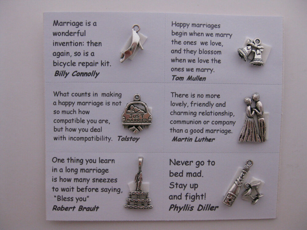 How To Make A Book Quote Pendant ~ Wedding charms for scrapbooking card and jewelry making