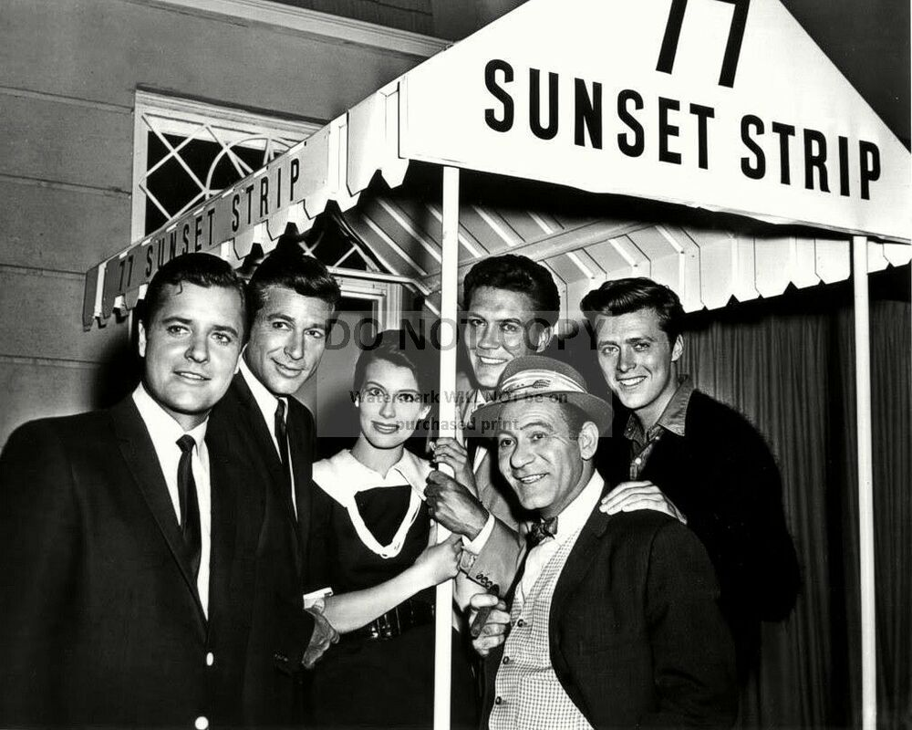 """77 SUNSET STRIP"" THE CAST FROM THE TV SERIES - 8X10 ..."
