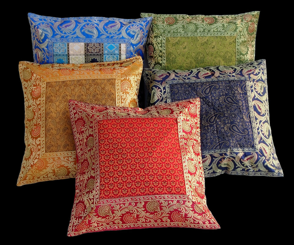 39x39 cm antik look orientalische pachwork kissenbez ge kissen sitzkissen pillow ebay. Black Bedroom Furniture Sets. Home Design Ideas