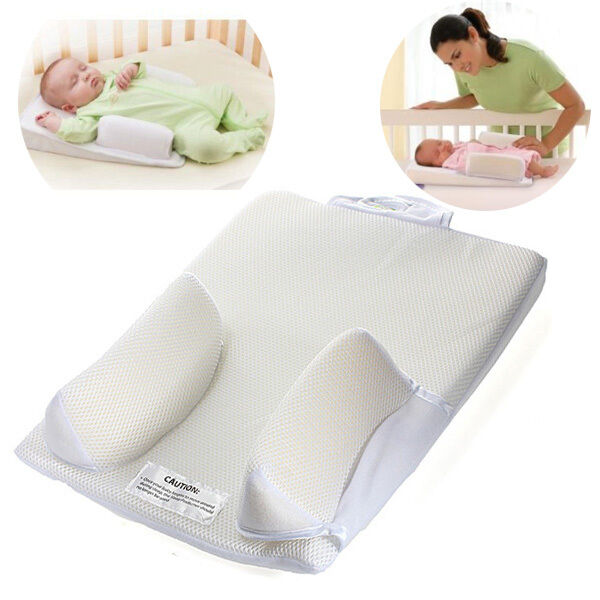 Baby Infant Newborn Sleep Positioner Prevent Flat Head