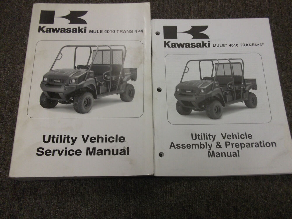 2009 kawasaki mule 4010 trans 4x4 diesel utility service. Black Bedroom Furniture Sets. Home Design Ideas