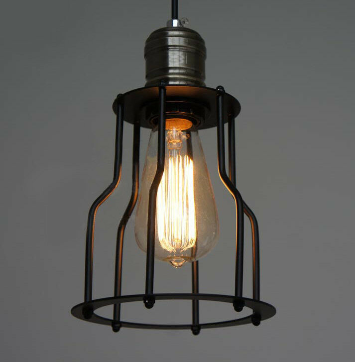 Ceiling Lights With Edison Bulbs : Special vintage style industrial edison ceiling lamp w