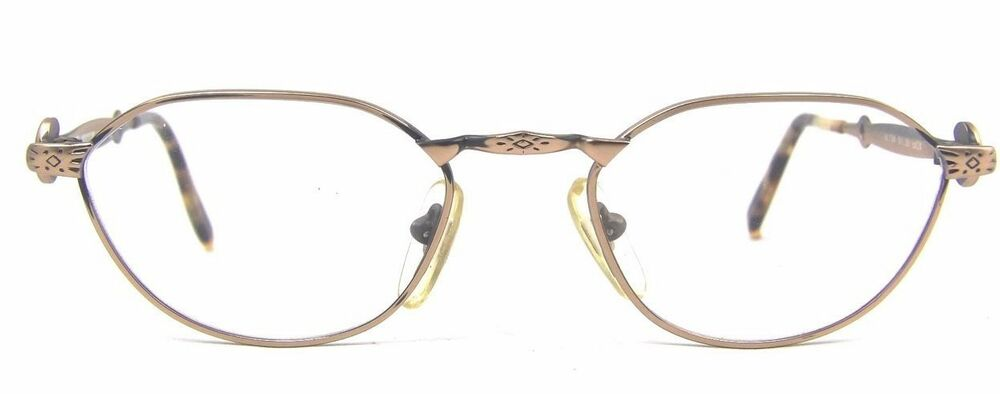 Gold Metal Glasses Frames : Alaska Adventure 154 Subtle Cat Eye Glasses Antique Gold ...