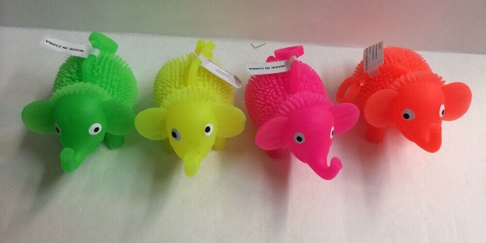 Puffer Ball Toys : Pc lite up elephant toys yo puffer ball therapy autism
