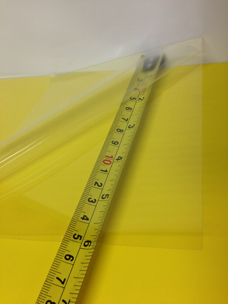 Clear Pet Pc Blend Thermoforming Plastic Sheet 0 010 Quot X 12