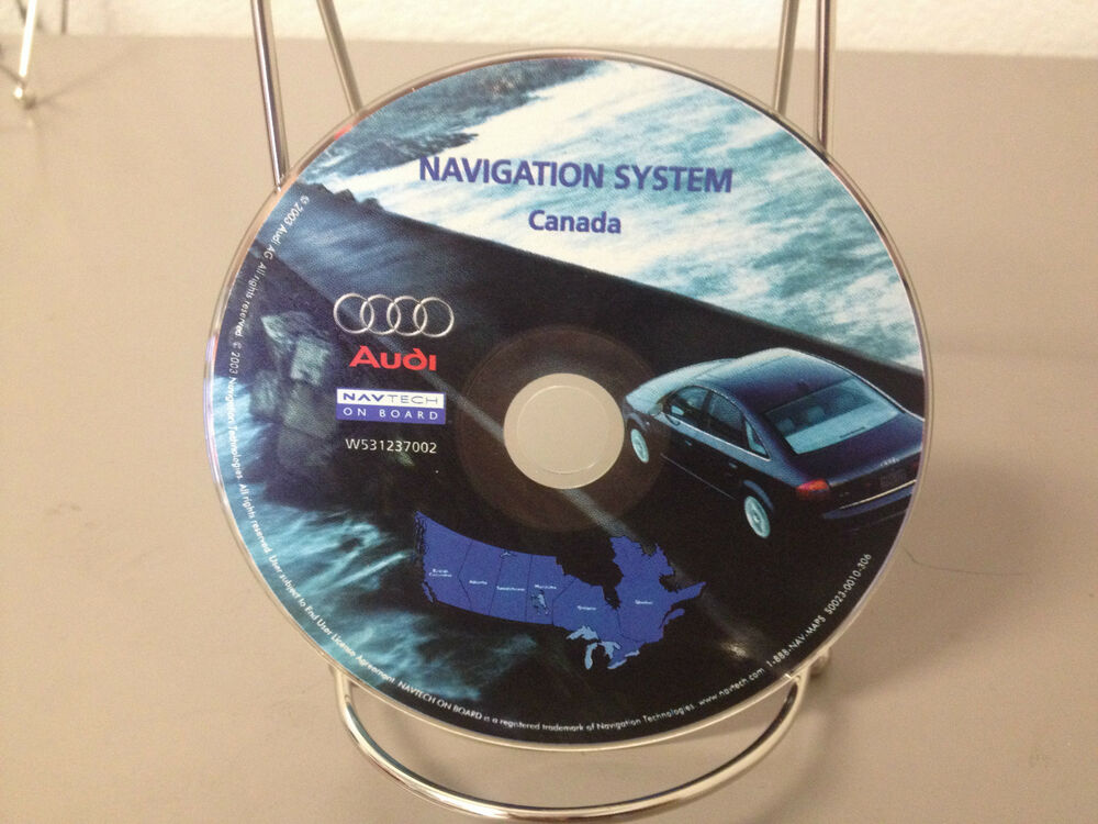 genuine oem factory 2003 audi navigation disc canada. Black Bedroom Furniture Sets. Home Design Ideas