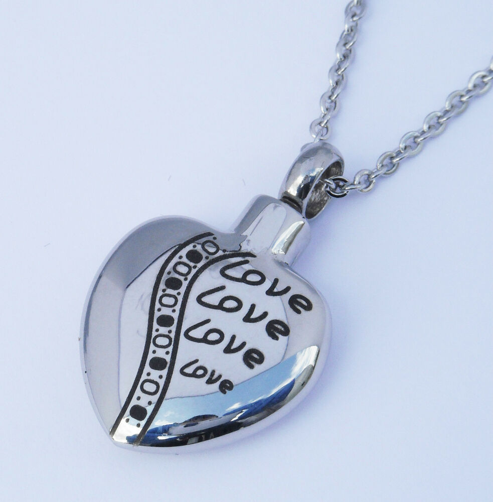 cremation ashes jewellery keepsake necklace urn quot