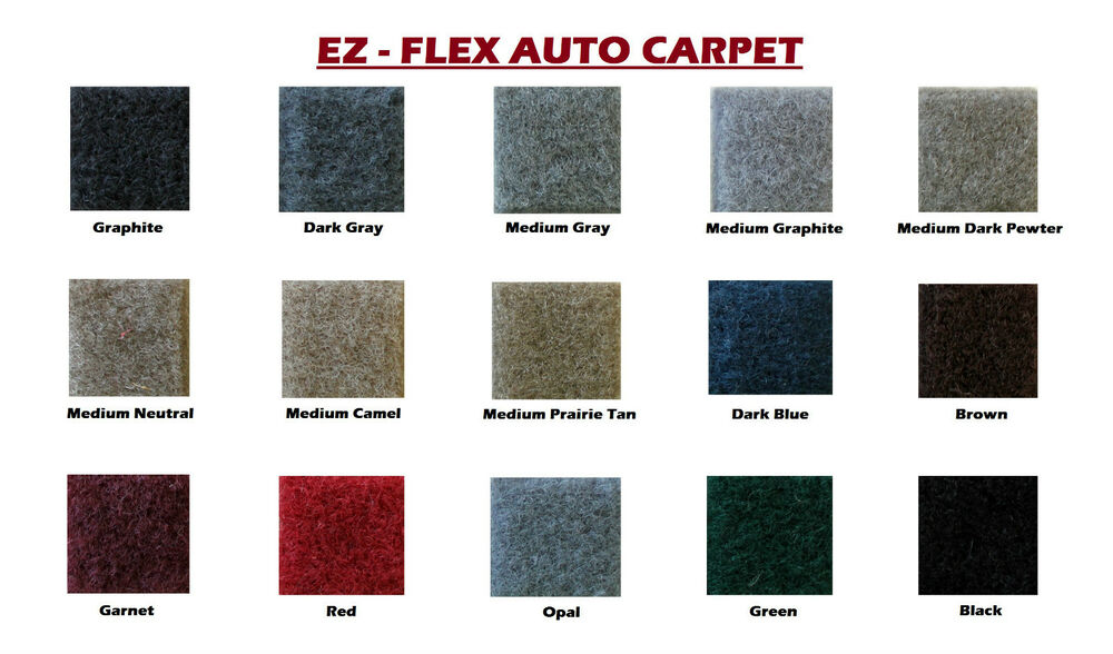 ez flex automotive carpet 80 wide multiple colors ebay. Black Bedroom Furniture Sets. Home Design Ideas