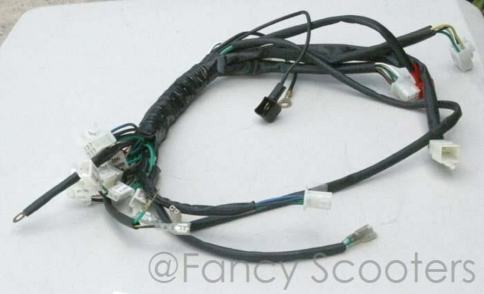 x 19 pocket bike with front rear turn signal wire harness after market ebay