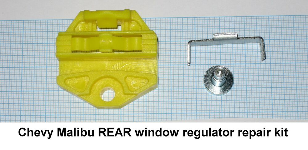chevy malibu 1997 2003 window regulator repair clip 1 rear window ebay. Black Bedroom Furniture Sets. Home Design Ideas