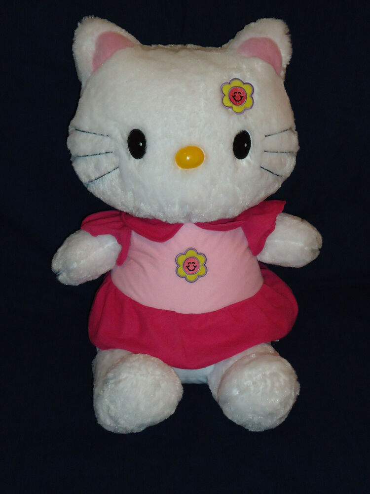 Hello Kitty Stuff Toys : Large quot hello kitty stuffed plush by shalom toys ebay