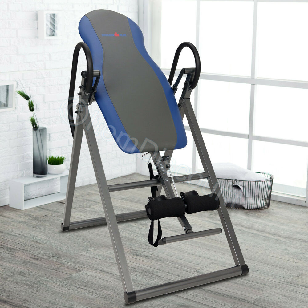 Inversion Table Folding Gravity Back Ab Disc Pain Therapy