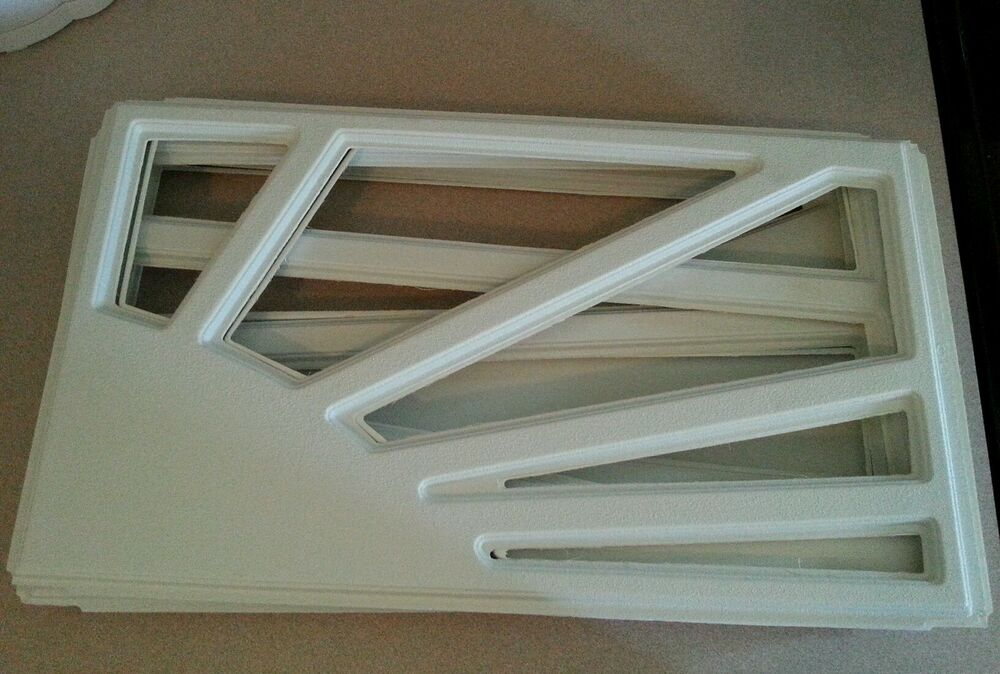 set of 8 clopay ideal garage door replacement window inserts sunset 505 decor ebay
