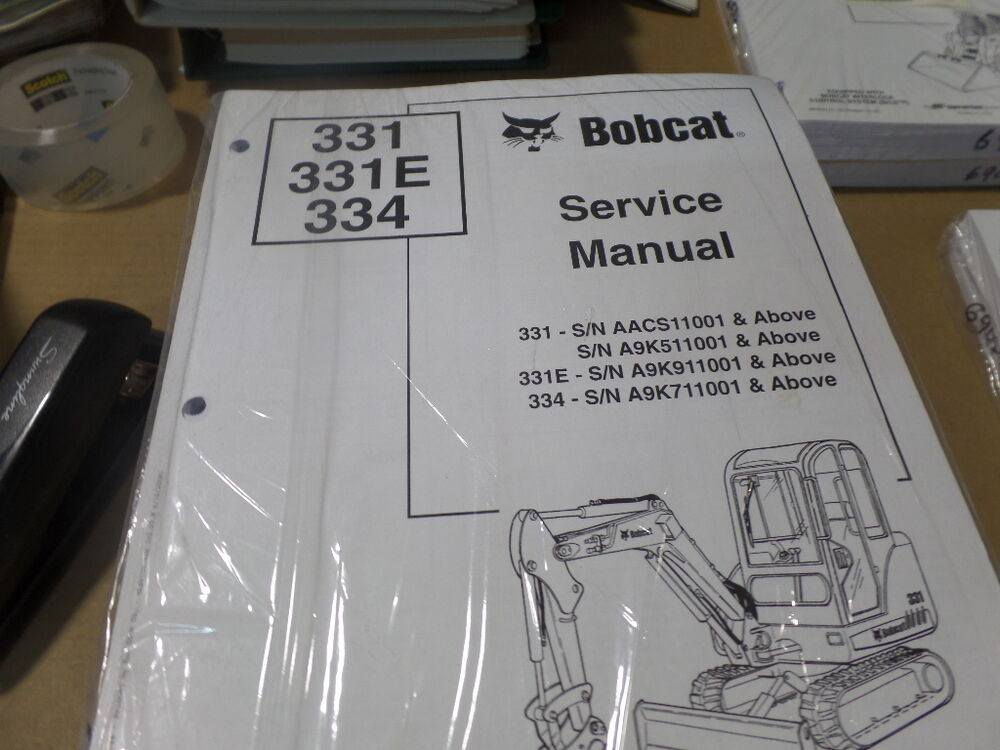 how to fix a 331 bobcat