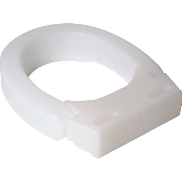 Hinged Elevated Toilet Seat Standard Elongated EBay