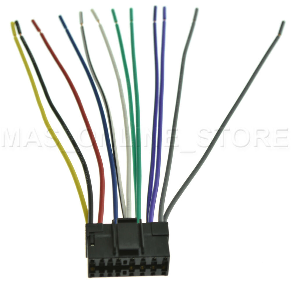Jvc Kds29 Wiring Harness 24 Diagram Images Kd Avx1 Wire For G110 Kdg110 Pay Today Ships