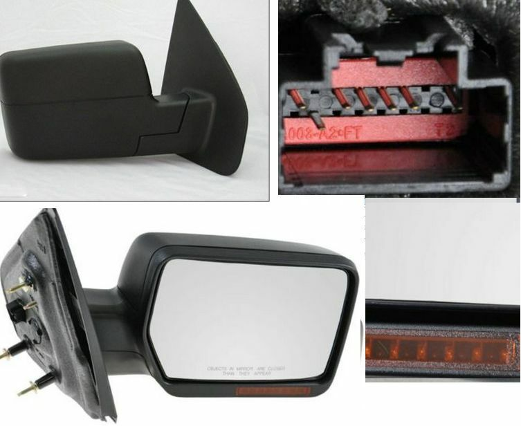 2004 2008 rh right passenger side power heated turn signal. Black Bedroom Furniture Sets. Home Design Ideas
