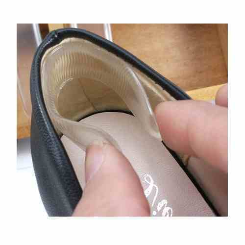 silicone heel shoe pads inserts insoles liner gel cushion