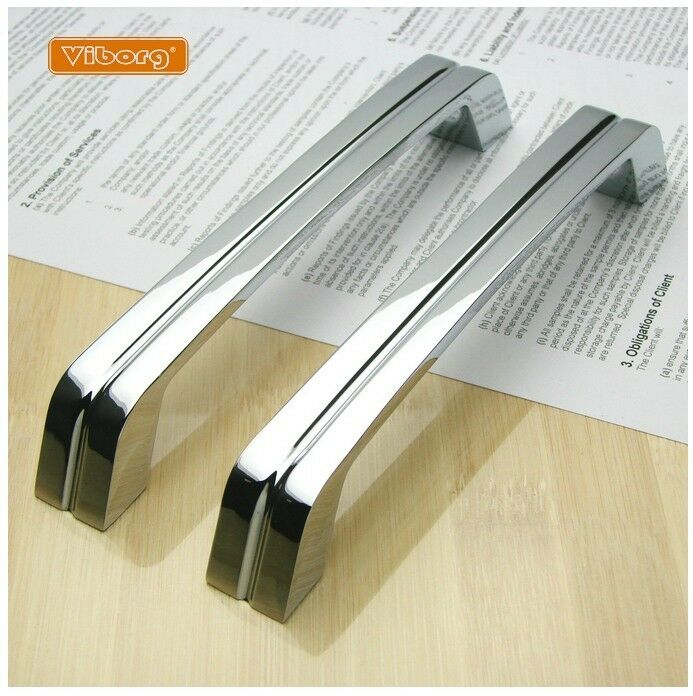 Modern Kitchen Cabinet Handles And Pulls: 5PCs VIBORG Modern Kitchen Cabinet Cupboard Door Drawer