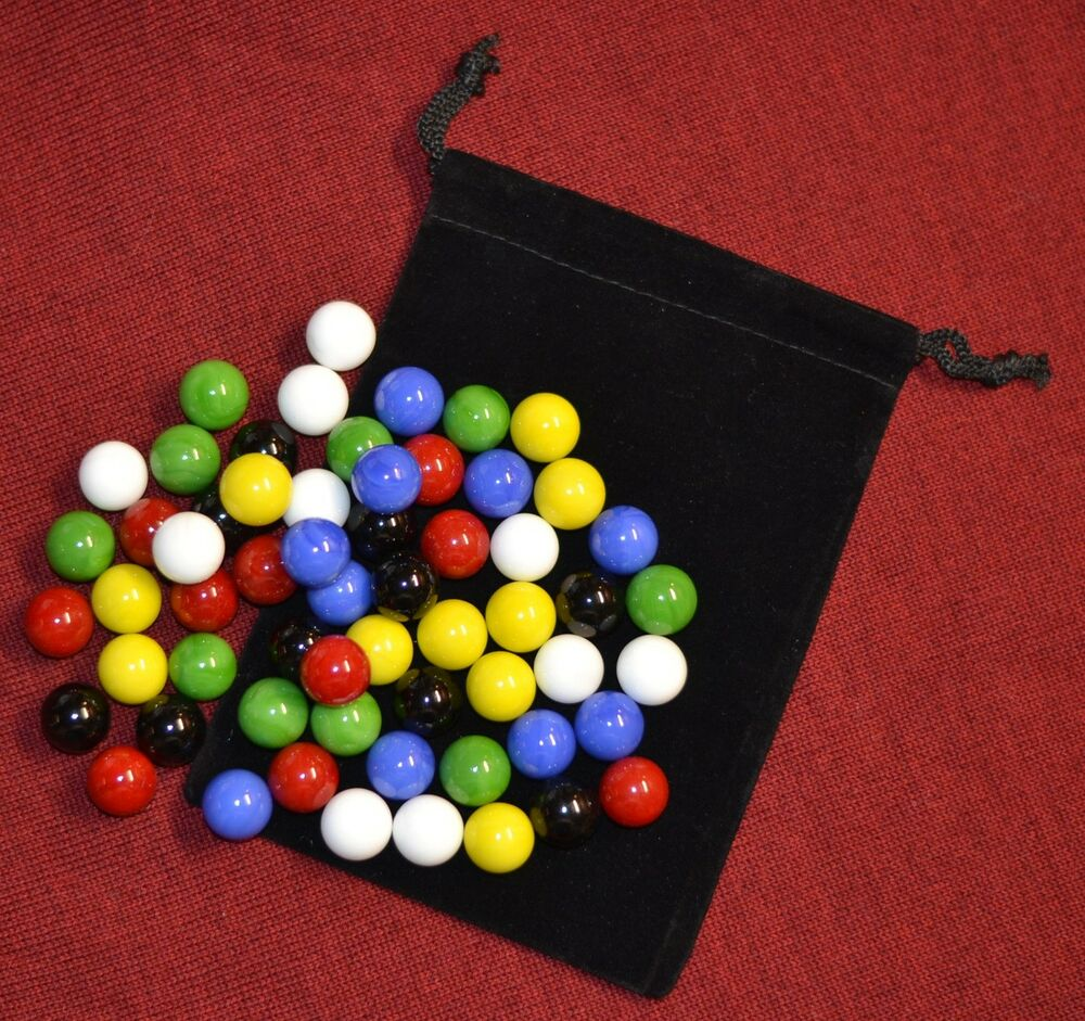 Single Colored Marbles : Bright colors chinese checkers marbles pc replacement
