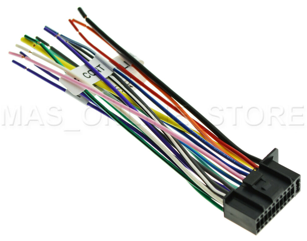 s l1000 wire harness for jvc kwnt300 kw nt300 *pay today ships today* ebay jvc kw-xr610 wiring harness at gsmportal.co