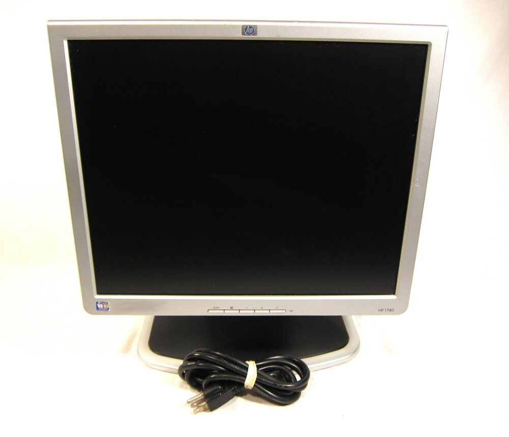 "HP Compaq 1740 17"" LCD Flat Screen Computer Monitor ..."