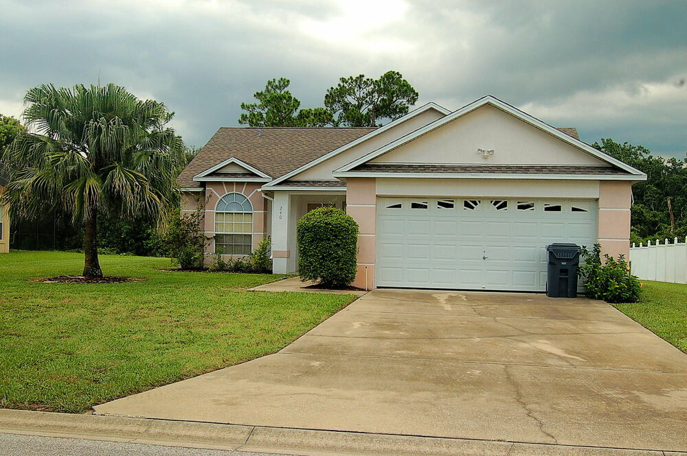 240 florida rental homes 3 bedroom villa with pool conservation view 2 weeks ebay for 3 bedroom houses for rent in orlando